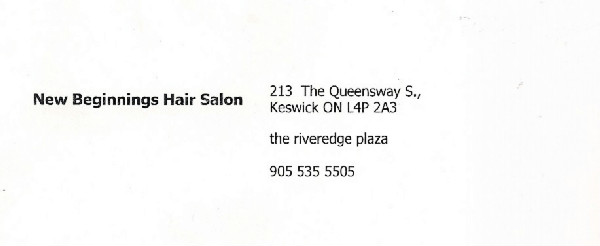 New Beginnings Hair Salon