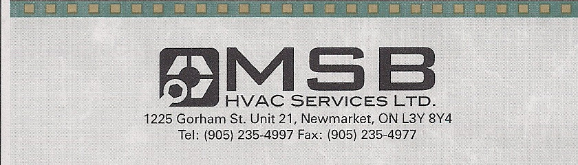 MSB HVAC SERVICES LTD
